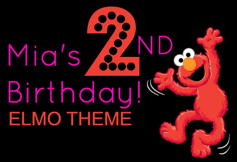 Mia's 2nd Birthday - Elmo Theme ~ The Styled Child