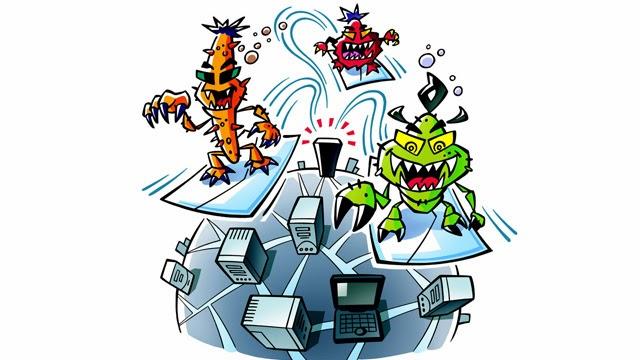Virus, Tojan dan Spyware