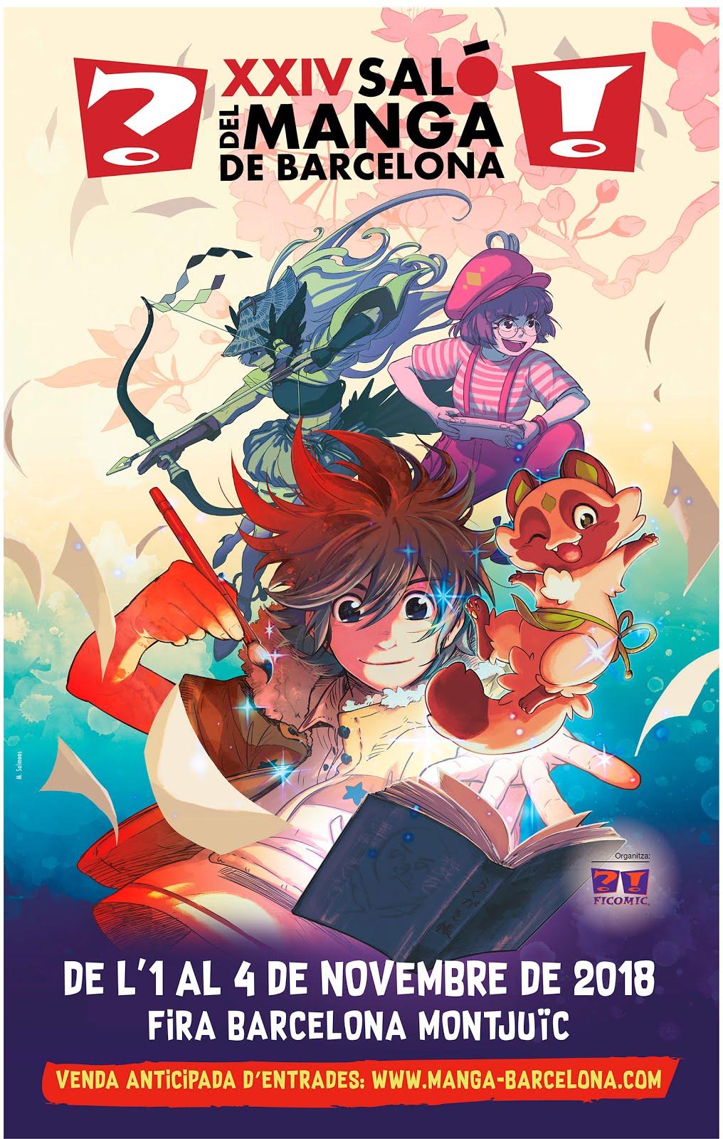 Asistiremos al XXIV Salón del Manga de Barcelona