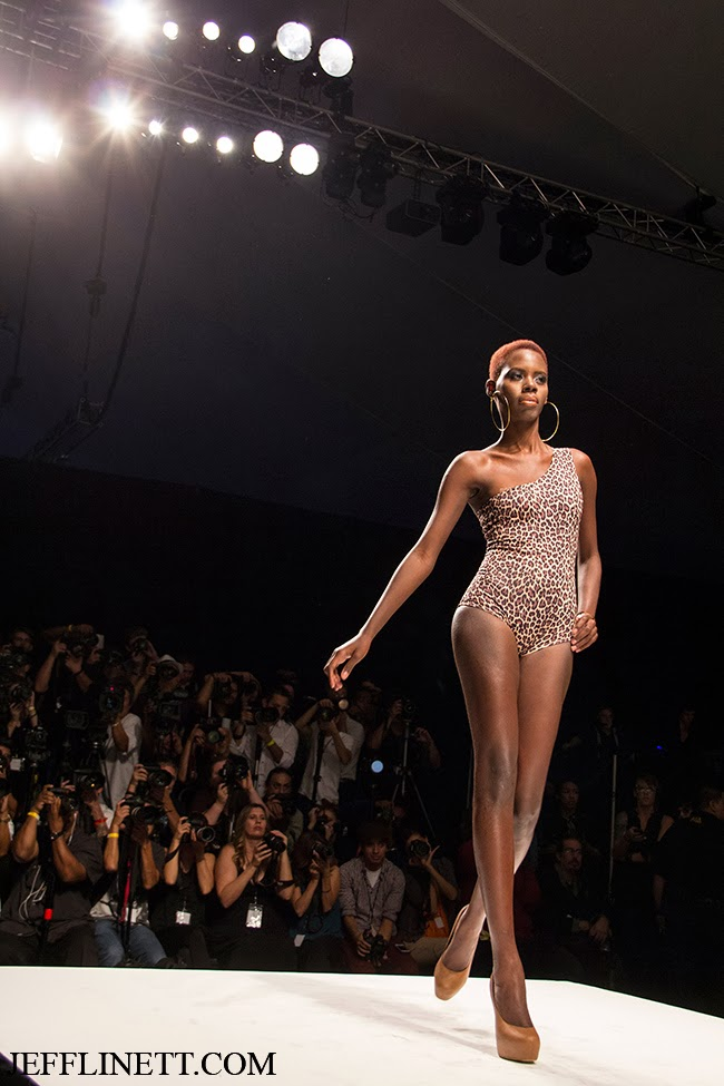 Models from the Caribbean take LA Style Fashion Week.