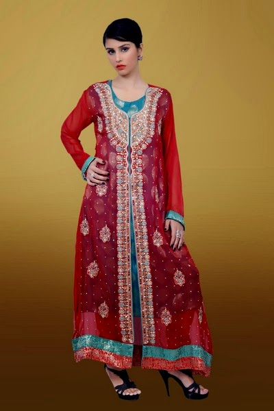 Maysoon - Designer Embroidered Eid Dresses 2014