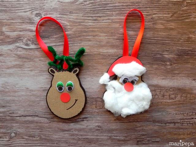 Creatividad para mam s decoraci n infantil y diy - Adornos de navidad manualidades para ninos ...
