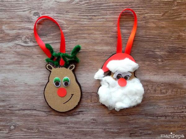Decoracion mueble sofa goma eva de navidad - Decoracion navidad goma eva ...