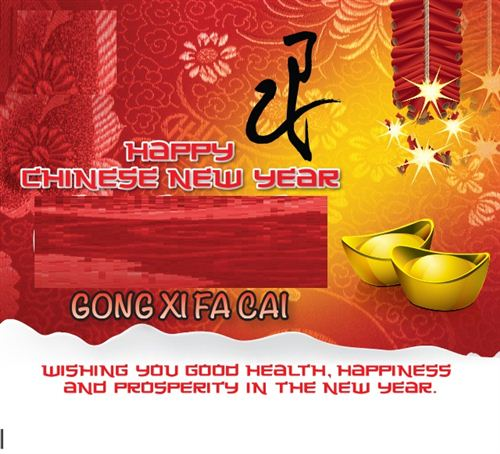 Unique Happy Chinese New Year Greetings