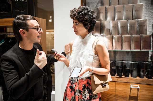 Fashion Junkie, Jessica Moazami interviews fashion designer Christian Siriano