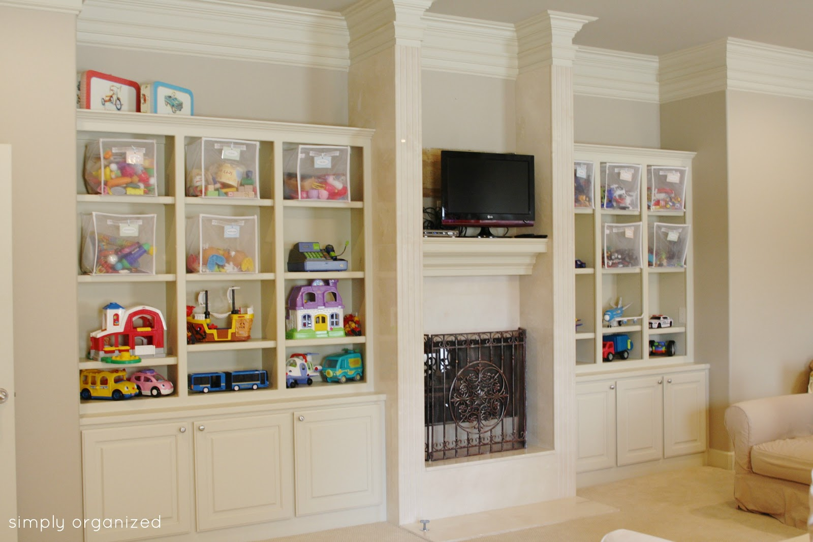 The Playroom Simply Organized