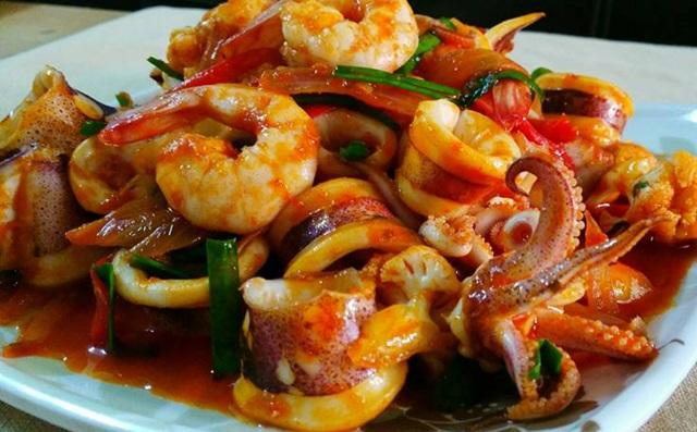 Resipi Seafood Masak Paprik