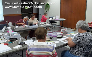 Stamp Class, Cards with Katie