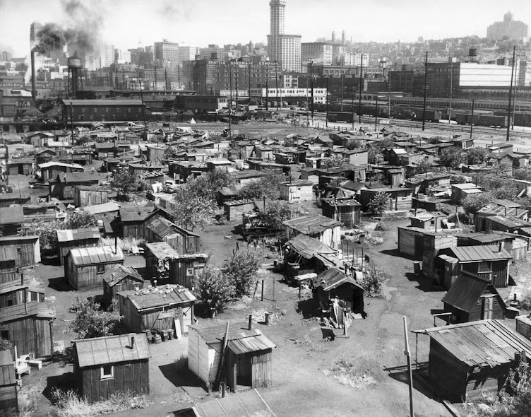 Hoovervilles of the 1930s ~