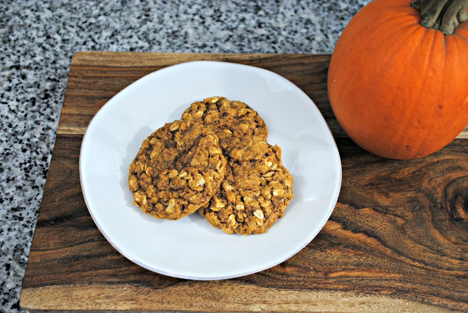 GourmetGents: Pumpkin Remix (Biscoff Pumpkin Oatmeal Cookies)