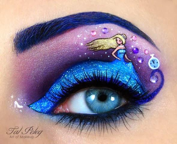 Maquiagem artística princesa
