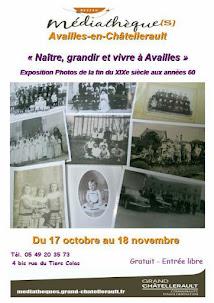 Naître, grandir et vivre à Availles. 70 ans de photos