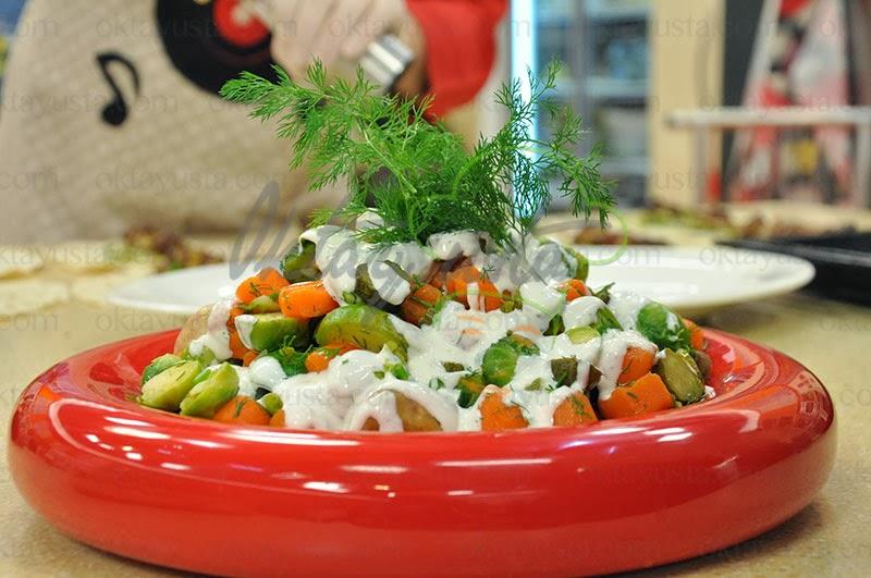 Brüksel Salatası Tarifi Yapımı