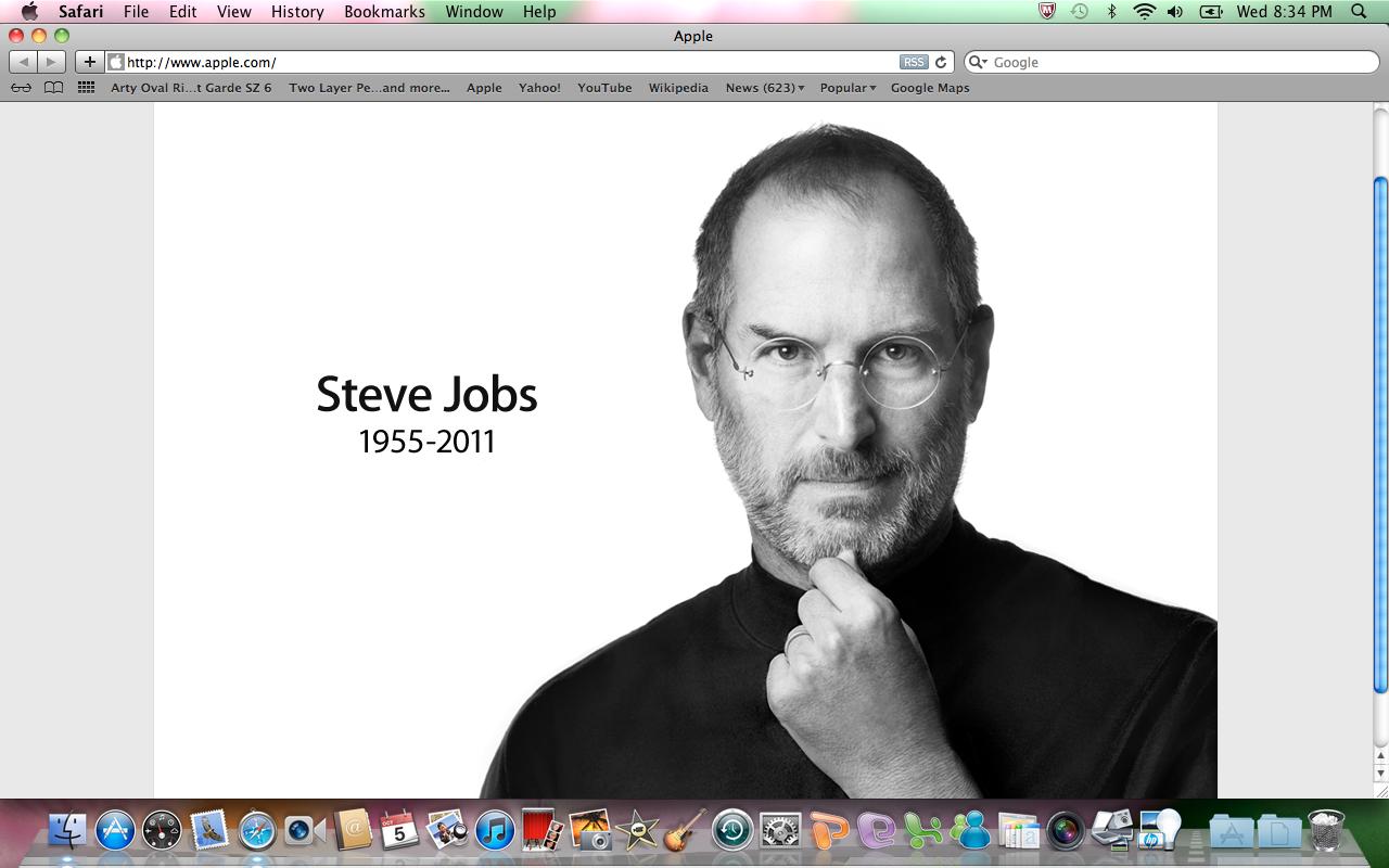 Rest In Peace Steve Jobs >> Rip Steve Jobs Freestyle Moda
