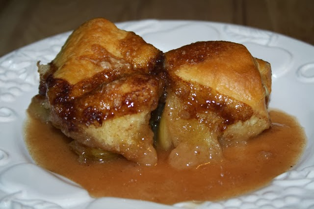 Easy Hard Cider Apple Dumplings