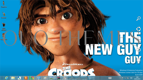 The Croods Windows 7 Theme