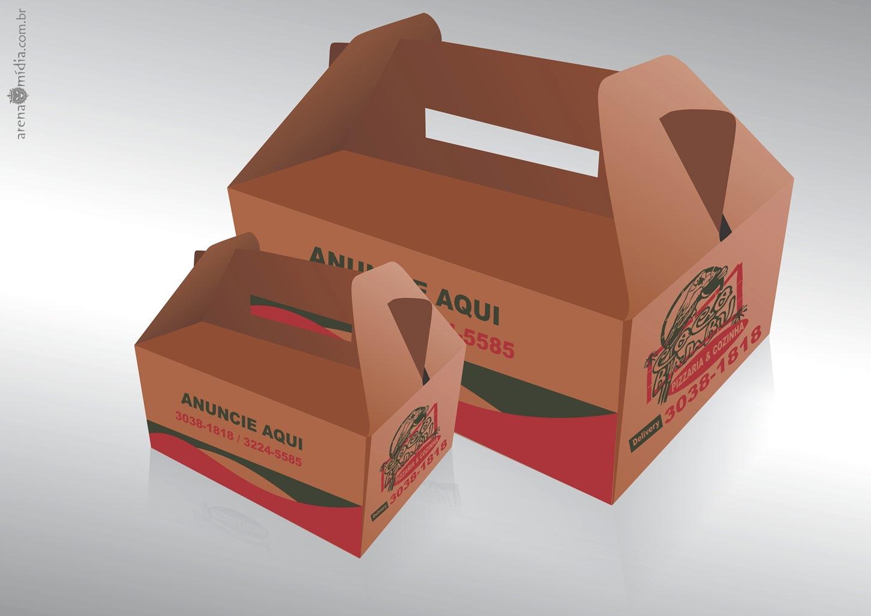 Embalagem Caixas De Pizzas Sorvetes Sacos De Papel