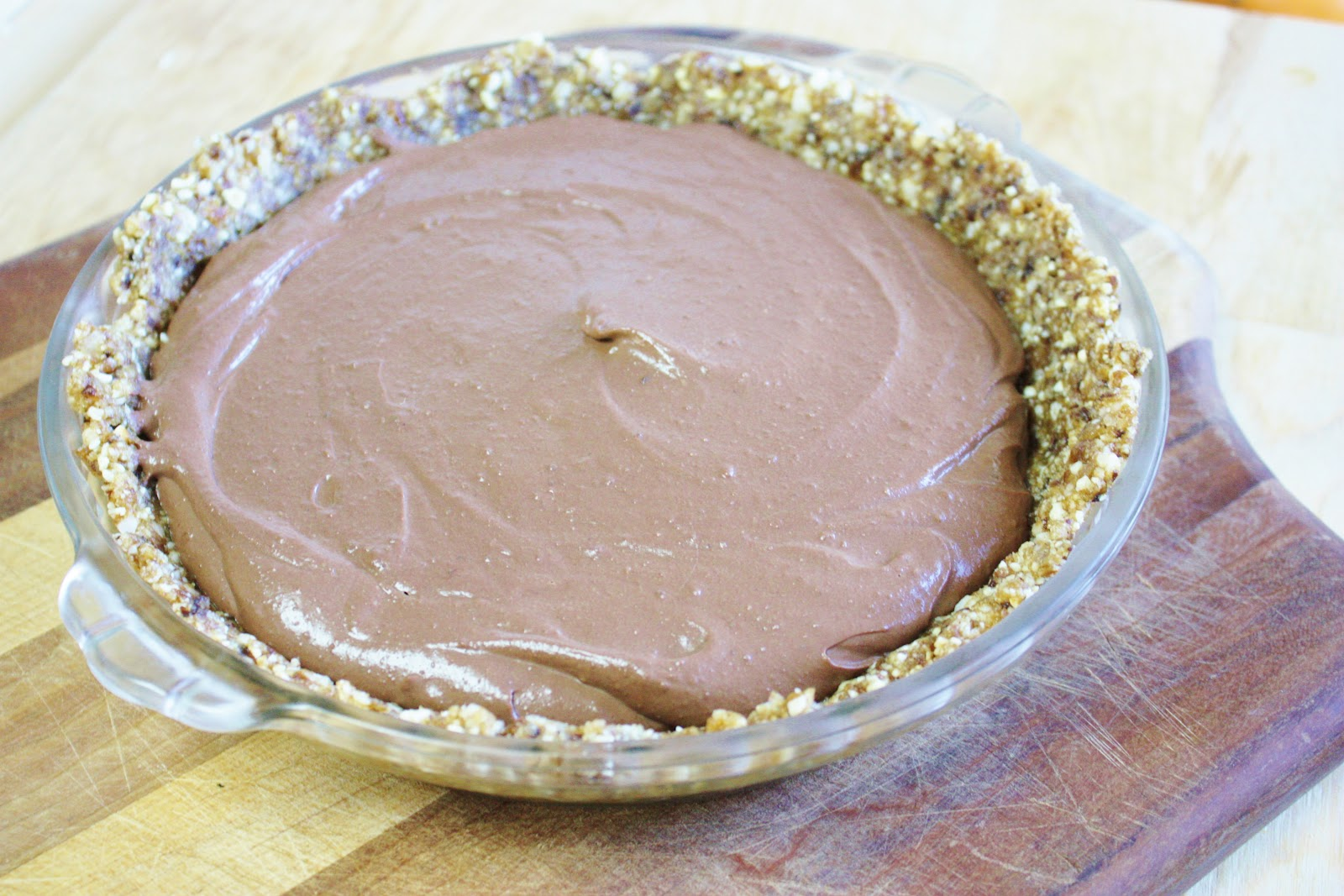 This Rawsome Vegan Life: chocolate peanut butter cream pie
