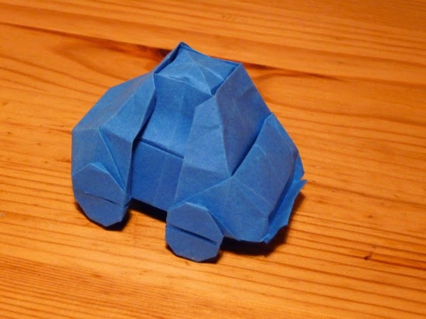 Projects Art And Craft Easy Easy Origami Car