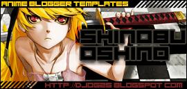 Shinobu Oshino Blogger template