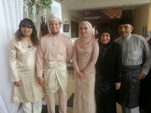 Gambar Majlis Persandingan Aliff Omar Anak Allahyarham Datuk Sharifah Aini