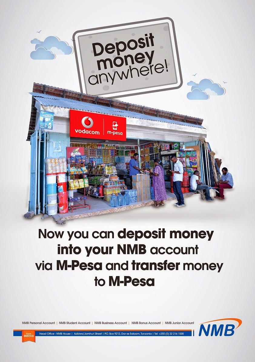 Nmb M Pesa Deposit Money Anywhere By Mobile Mobile Kwetu