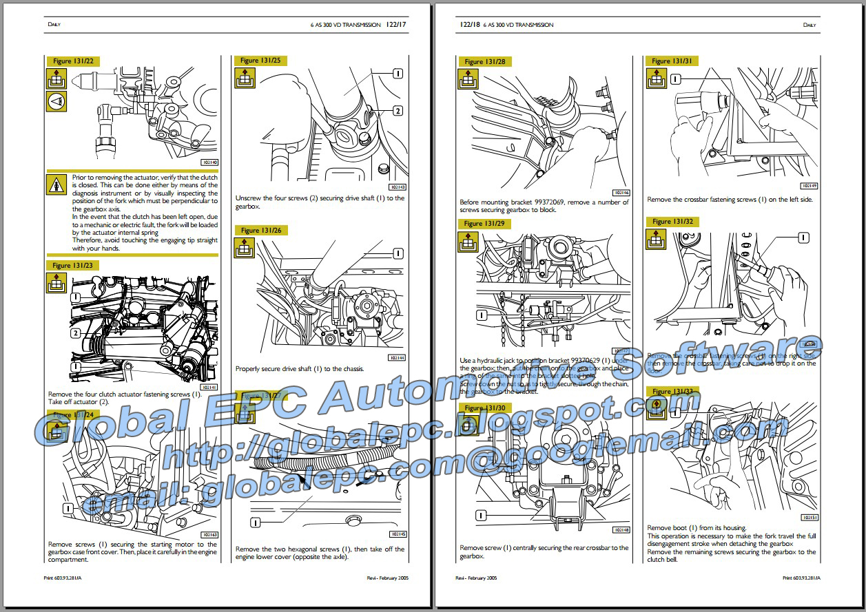 iveco daily 2000 2006 repair manual wiring diagrams automotive repair manuals