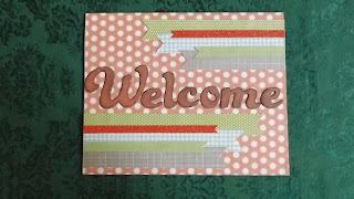 CTMH Zoe Paper Pack Welcome Sign