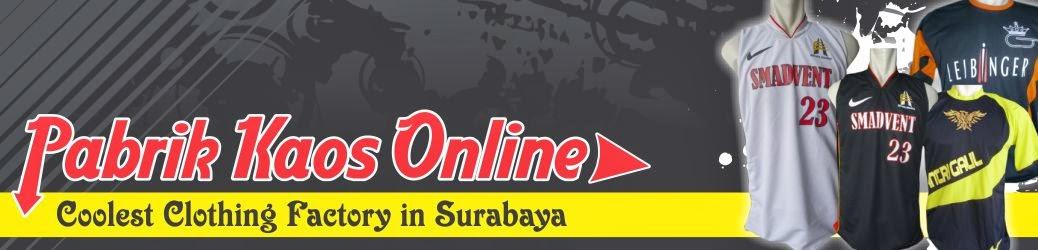 Pabrik Kaos Online Surabaya | Jasa Pembuatan Kaos Online | Produksi Kaos Online Indonesia