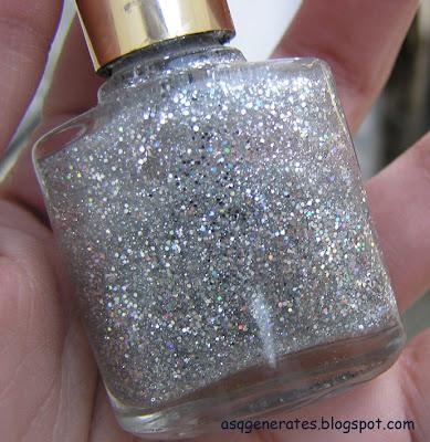 Medora glitter nail polish