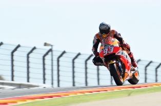 MotoGP Aragon 2015: Marquez Start Terdepan