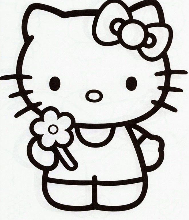 20 free printable hello kitty coloring pages fit to print - Coloring Pages Simple