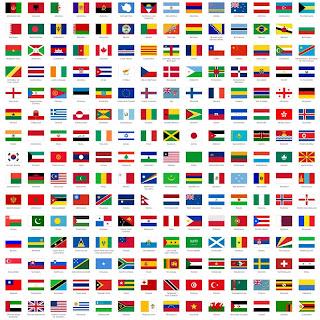 7 Bendera Negara Paling Aneh di Dunia