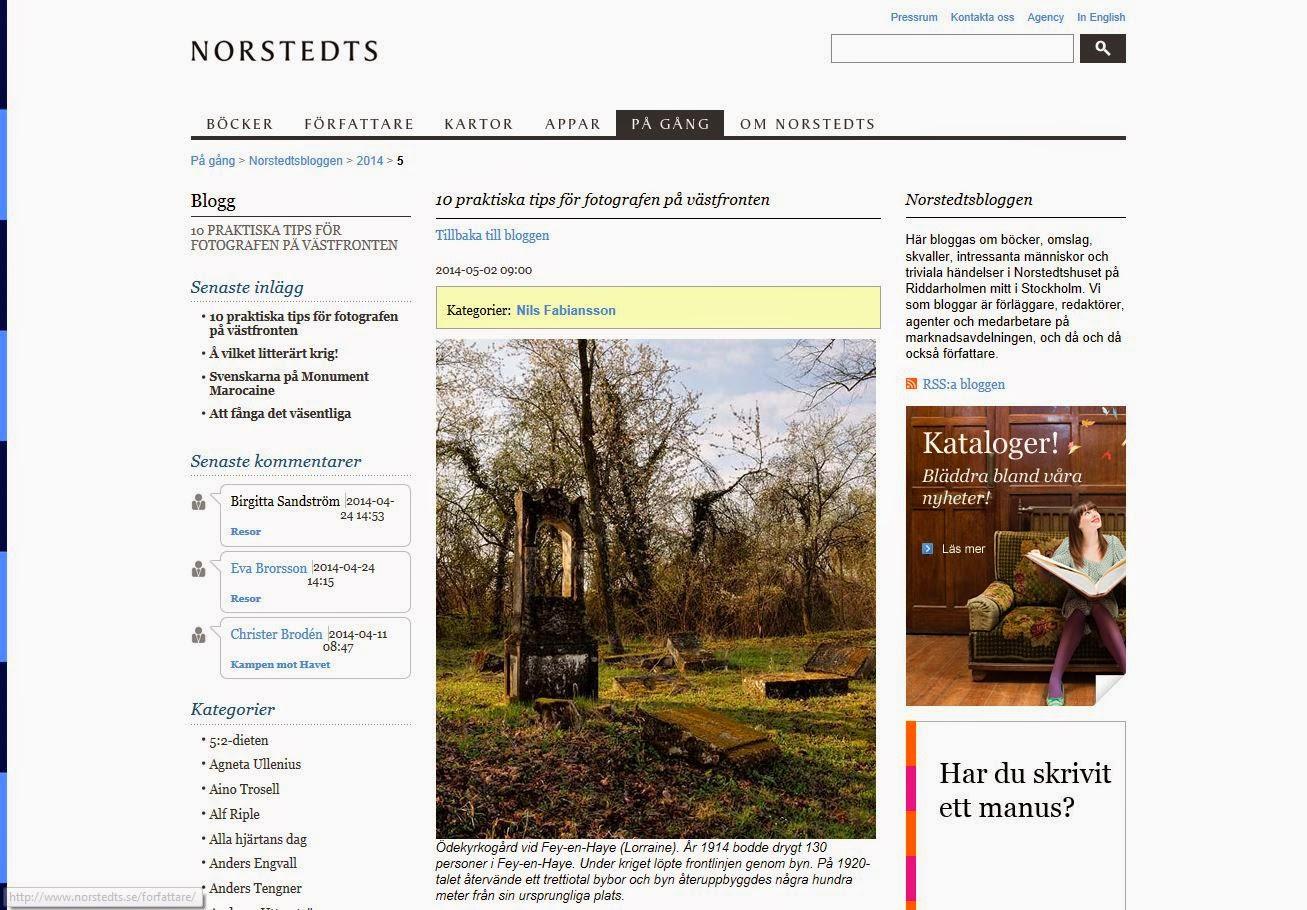 http://www.norstedts.se/pa-gang/Norstedtsbloggen/Dates/2014/5/10-praktiska-tips-for-fotografen-pa-vastfronten/