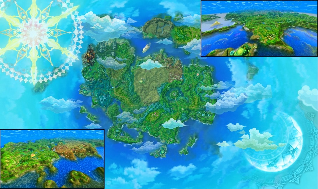 Astral Realm world map