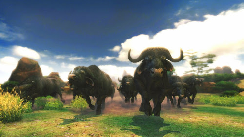 Screen Shot Of Cabelas African Adventures (2013) Full PC Game Free Download At Downloadingzoo.Com