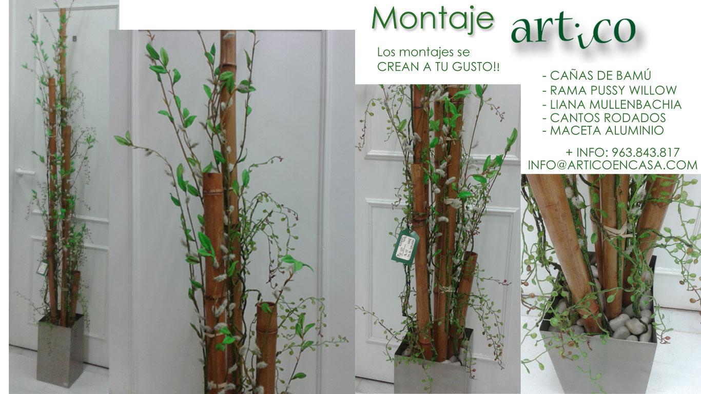 Bambu Decoracion O Grove ~ Decoraci?n ARTICO Ideas y Consejos con Flores y Plantas Artificiales