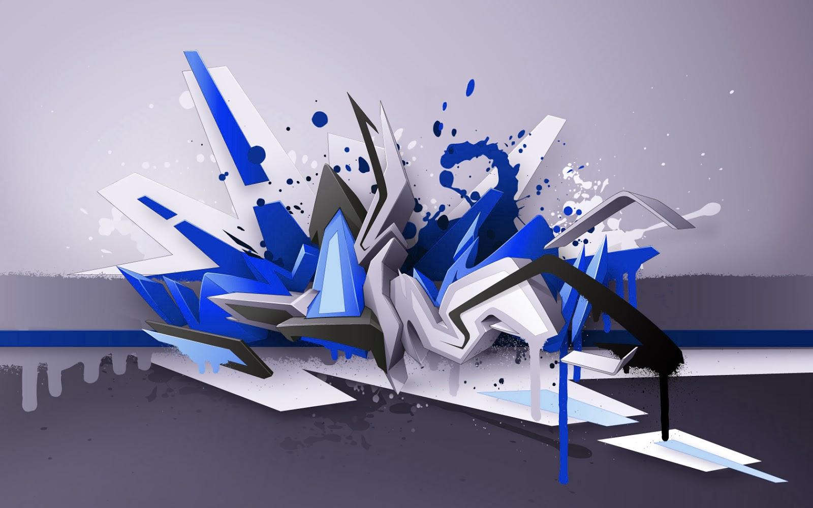 Graffiti wall 3d graffiti art wallpaper