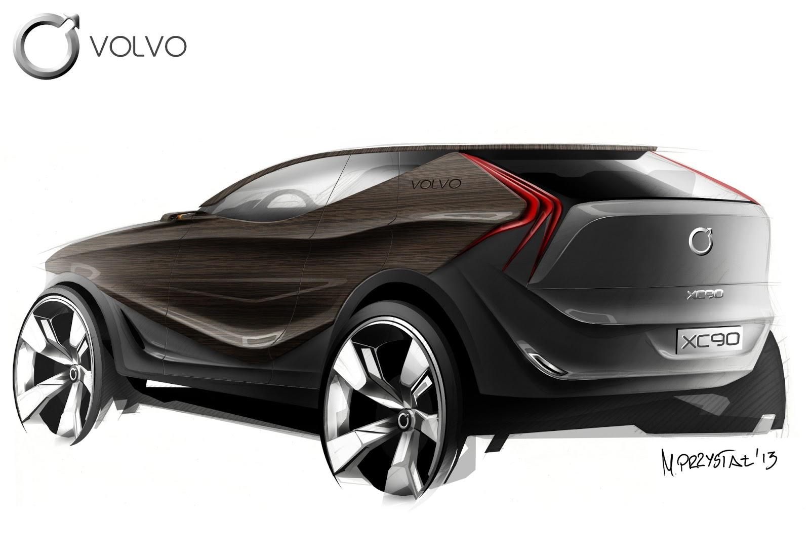Volvo Xc90 Concept Mateusz Przystał Portfolio