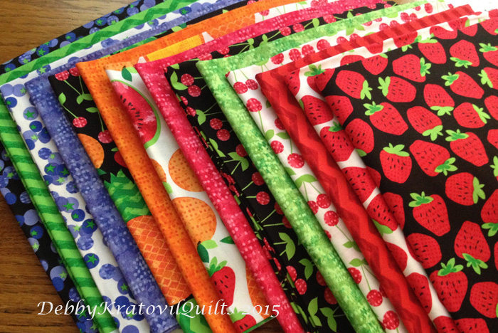 Debby Kratovil Quilts: Fruit Salad and a Wild Watermelon Quilt : watermelon quilt - Adamdwight.com