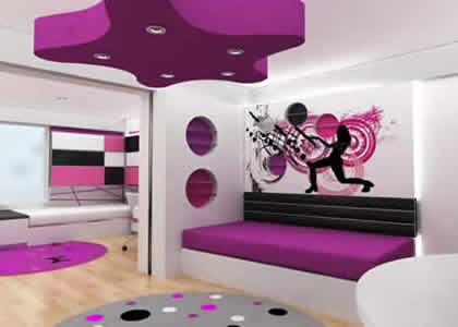 Decoraci n y afinidades el color violeta o lila en las - Dormitorio malva ...
