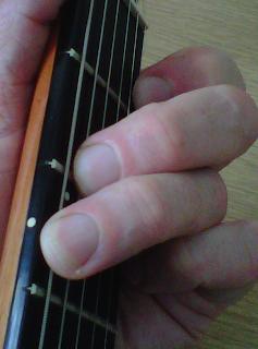 G dominant 7 Guitar Chord