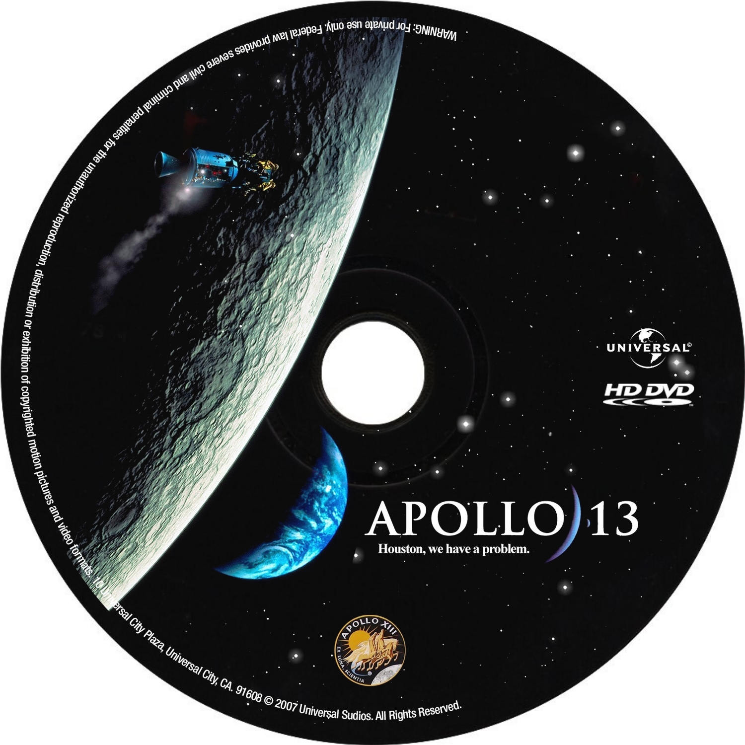 Label HD DVD Apollo 13