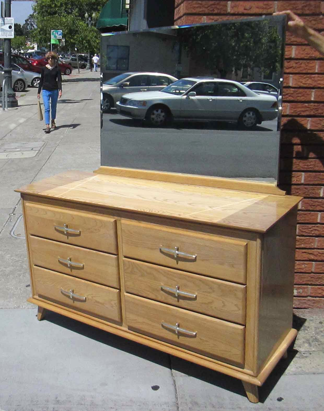 UHURU FURNITURE & COLLECTIBLES: SOLD **REDUCED** 6-Drawer Dresser ...