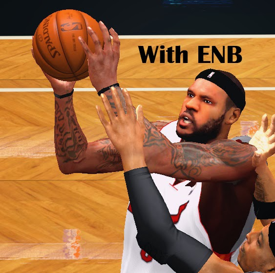 NBA 2K14 LeBron James Next-Gen Face Mod