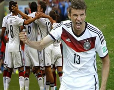 Alemania Golea a Portugal