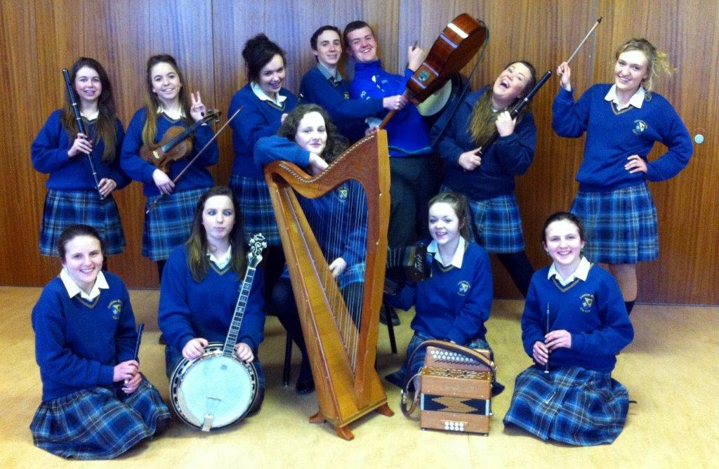 Wicklow uplands council 2015 coliste bhrde students participating in pure music competition malvernweather