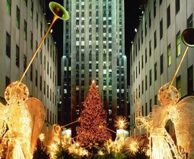 Christmas At Rockefeller Center New York City