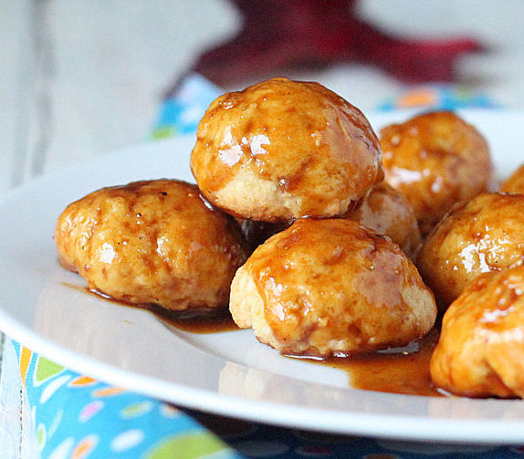 So I was planning on baking up some sweet potato Gulab Jamuns (but the ...