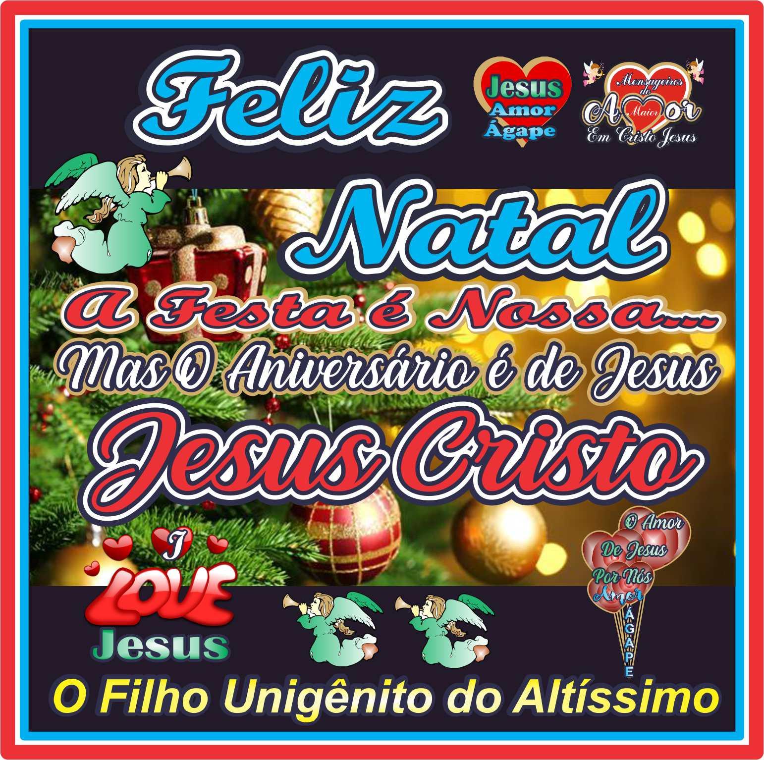 Feliz Natal à Todos Seres Humanos Pecadores Mortais